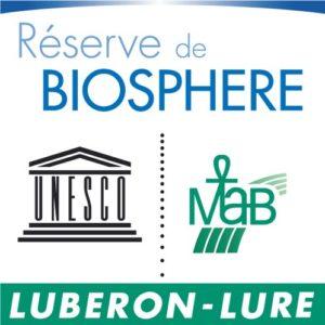 Logo Réserve Biosphère Luberon - Lure